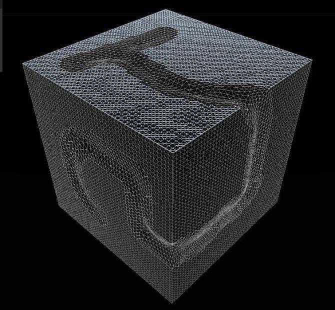 Convex contour partitioning based